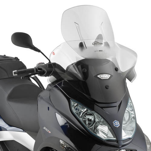 szélvédő air-flow AF5601 MP3 300ie 500ie 14-17 Givi