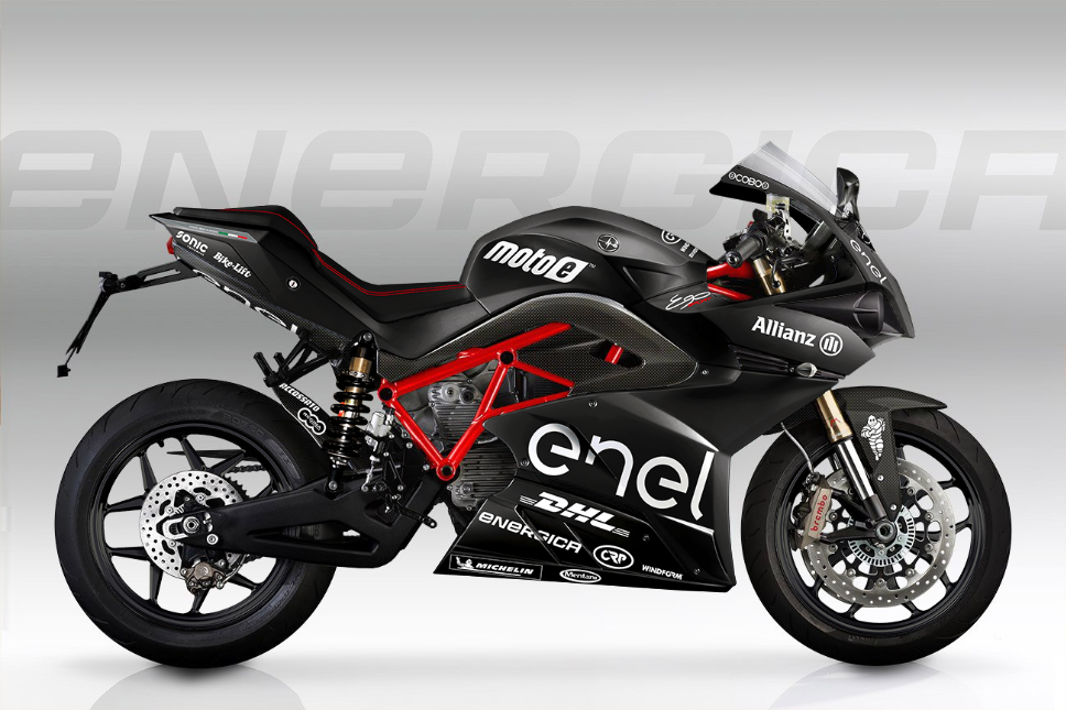 Energica Ego Electric Superbike Black Moto-E