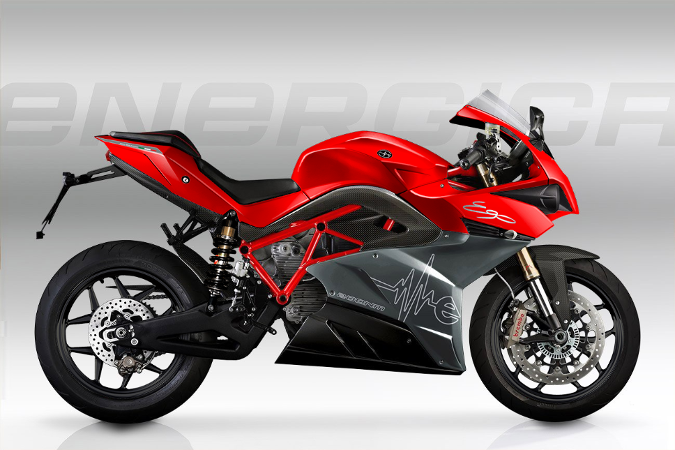 Energica Ego Electric Superbike Passion Red